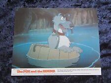Walt Disneys THE FOX AND THE HOUND  lobby cards - 1990 original set