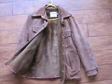 Schott bros Rancher Western Vtg Brown leather lined jacket  40 mens hippie suede
