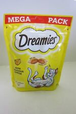 Dreamies Cat Treats - Mega Packs 180g Salmon Chicken Cheese Flavours