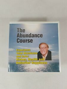 The Abundance Course 14-Disc Set AUDIO BOOK CD Lawrence Crane Riches Health +