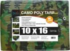 Part 8678074 Tarp Poly 9 Ft X 12 Ft Camo, by Proven Brands, Single Item, Great V