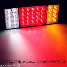 12V 36 LED Tail Light Rear Lamp Caravan Waterproof For LED Truck Trailer Ute