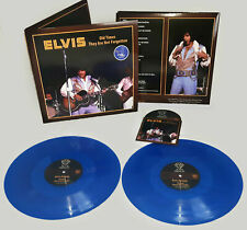 Elvis Collectors 2 LP/CD -  Old Times They Are Not For Forgotten (Blue Edition)