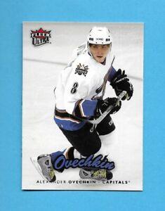 2nd YEAR CARD! 06-07 Fleer Ultra Card # 196 ALEX OVECHKIN WASHINGTON PERFECT!