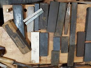 HUGE LOT of vintage sharpening stones
