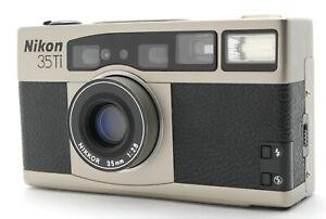 [Exc+5] Nikon 35Ti f/2.8 Point & Shoot 35mm Film Camera from Japan #1033
