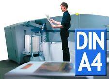 Flyer DIN A4    4/4-fbg bedruckt   Papier: 115 g/qm   verschiedene Mengen