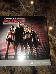 Beachbody Les Mills Pump 8 DVD Set Rare Disc Combat Sports Attack Step
