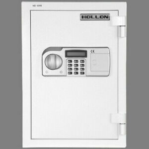 Hollon HS-500E 2 Hr Rated Boltable Fire Safe with Electronic Lock Secure Money