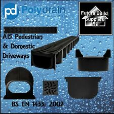 Shallow Flow Storm Water Channel Drainage PVC Channel Driveway Aco Drain 1 metre