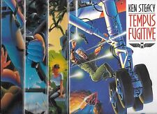 TEMPUS FUGITIVE GRAPHIC NOVEL #1-#4 SET (NM-) KEN STEACY / D.C.