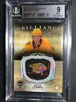 2018-19 The Cup Kyle Turris Brilliance Auto Graded BGS 9 MINT
