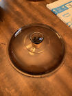 CORNING Pyrex Amber Visions Glass Replacement Lid 27 B ~ 10.5 in ~ NICE!!!