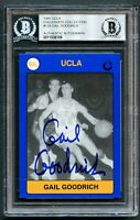 Gail Goodrich #134 signed autograph UCLA 1991 Collegiate Collection Card BAS