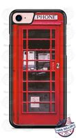 Red British London Telephone Booth Phone Case fits iPhone Samsung LG Google etc