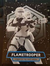 Journey to Star Wars: The Force Awakens Power of First Order #FO-5 Flametrooper