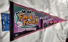 NCAA Final Four Felt Pennant April 5 & 7 2003 New Orleans March Madness VTG