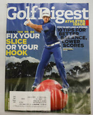 Golf Digest Magazine Dustin Johnson 10 Tips September 2011 051915R2