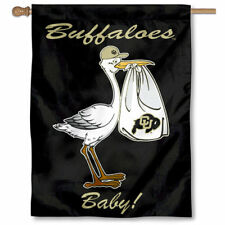 University of Colorado New Baby Born Decorative House Flag