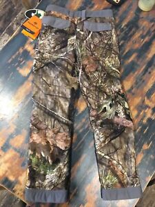 Nomad Large Youth Harvester Pants Mossy Oak Camo Hunting N7000002 920YL New