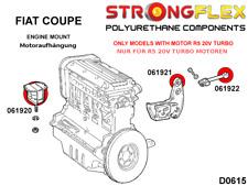 Fiat Coupe Turbo R5 2,0 20V 220PS PU Polyurethan Motorlager Kit Set StrongFlex