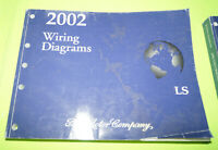 2002 Lincoln Ls Wiring Diagrams Electrical Service Manual Ebay
