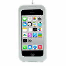 Coque étanche joints silicone blanche pour iPhone 5-5S-SE2016