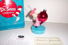 Dr Seuss Figurine Cindy Lou Who Mint Condition 1st Edition Porcelain In Box