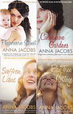 Anna Jacobs Books x 4, Peppercorn Series (Paperback) Peppercorn Street +++