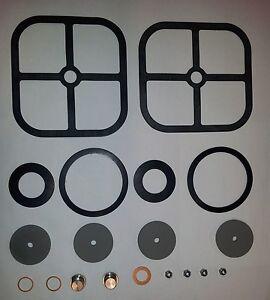 Dichtsatz für OSNA Kolbenpumpe Typ LG inkl. Packung u. Membrane f. Sicherheitsv.