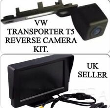 Kit de Cámara Reversa Trasero Para VW Transporter T5, Caddy, Golf, Passat & Skoda, Reino Unido