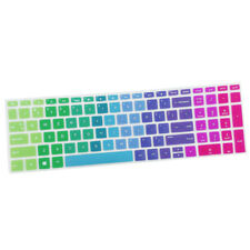"Soft Keyboard Protector Cover Silicone Skin for HP 15.6"" BF Laptop Rainbow Color"