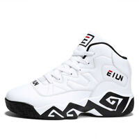 Men's Running Basketball Shoes Sports Casual Walking Athletic Sneakers Plus Size
