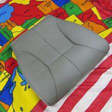 1998-02 Dodge Ram 2500  Laramie Base Driver  Bottom Leather Seat cover (GRAY )