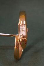 Baume et Mercier in oro 750-18K.  alato a molla.