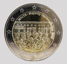 Malta 2012 - 2 euros Comm-representación mayoritaria 1887 (unc)