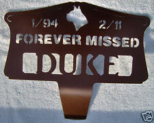 Metal Pet Memorial Headstone Grave Marker Personalized For Your Dog or Cat