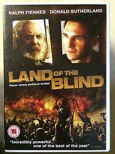 Ralph Fiennes, Donald Sutherland LAND DELLA BLIND ~ 2006 Drammatico UK DVD