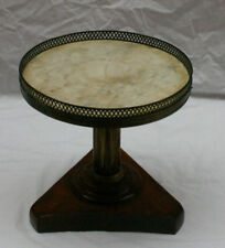 "Magnificent 19 C French Mini Marble Top Round Table "" Must See """
