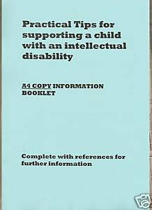Parenting Tips and Ideas Intellectual Disability A4