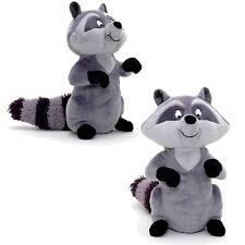NUOVO Ufficiale DISNEY PRINCESS POCAHONTAS 26cm Meeko the Raccoon Morbido Peluche Giocattolo