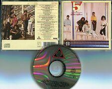5 STAR CD Silk & Steel © 1986 Tent GERMANY PRESS pd71100 FUNK SOUL 10 Track