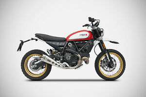 Zard Muffler Slip-On Se Ducati Scrambler 800 Desert Sled Since Model 2017