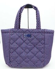 NWT Marc Jacobs Blue Quilted Geo Spot Nylon Tote Shoulder Bag New