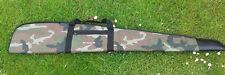 Padded Camo Camouflage Full Zip Gun Bag Rifle Slip Air Rifle Case Carrier Bag