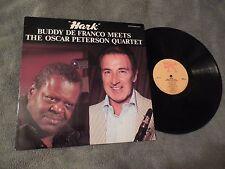 Buddy De Franco Meets Oscar Peterson Hark LP Jazz Classic Pablo 2310-915 VG+
