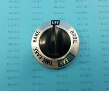 WB3X465 Vintage GE Oven Round Top Selector Knob Self Clean; KN-6a