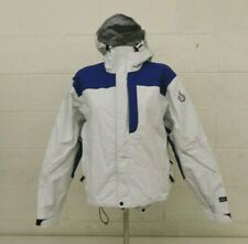 ISIS for Women White Waterproof Breathable Shell Ski/Snowboard Jacket Size 10