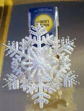BATH BODY WORKS SNOWFLAKE WALLFLOWER PLUG FRAGRANCE AIR FRESHENER NIGHT LIGHT