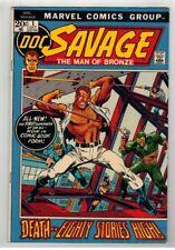 DOC SAVAGE #1-8 COMPLETE FULL RUN - ROSS ANDRU ART - MARVEL COMICS/1972